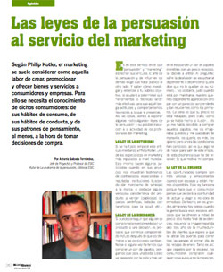 Las leyes de la persuasión al servicio del marketing